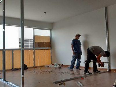 Drywall para departamento SJM