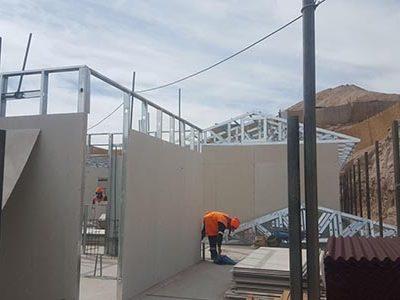Oficinas en Drywall para proyecto Ica