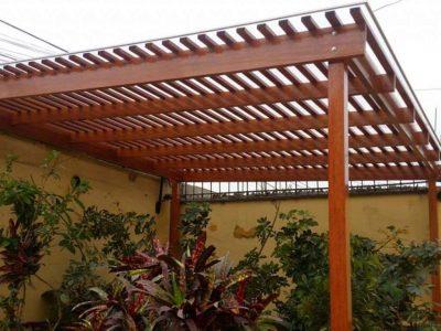 Techo de sol y sombra para casa en Surco