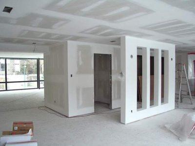 Drywall para oficina - Realización de 10 oficinas